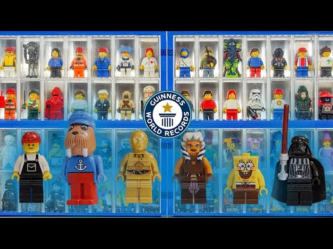 Exploring a Massive LEGO Minifigure Collection