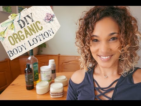 DIY Lotion - How to Make Your Own Body Lotion - with Shea Butter &  Coconut Oil
