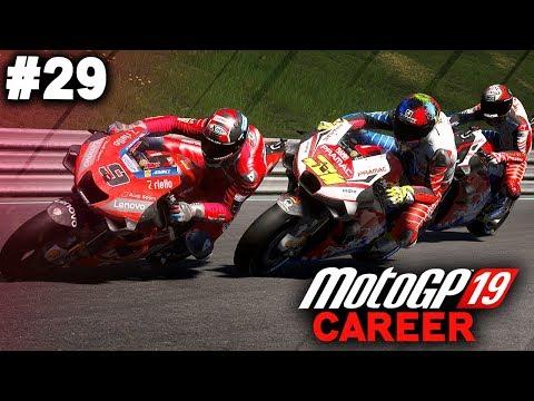 MotoGP 19 Career Mode Gameplay Part 29 - CRAZY RACE! (MotoGP 2019 Game Career Mode PS4 / PC)