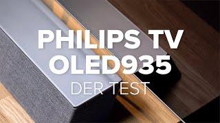 Philips OLED935 im Test: TV mit Ambilight und Soundbox | COMPUTER BILD [deutsch]