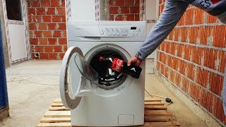 EXPERIMENT Coca Cola vs Washing Machine