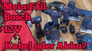 Bosch 12 V Akku Fail Kauf? Welche brauche ich wirklich? Kabel oder Akku?