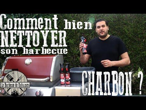 Comment bien NETTOYER son barbecue à CHARBON ?