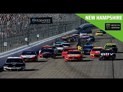NASCAR ニューハンプシャー 決勝フル動画
