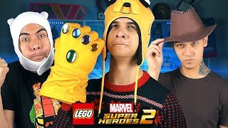 ДРУЗЬЯ в LEGO Marvel Super Heroes 2!
