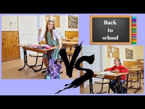 První VS poslední den školy