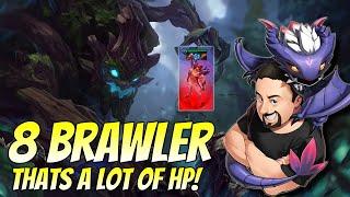 8 Brawler! That's a LOT of HP! | TFT Fates | Teamfight Tactics