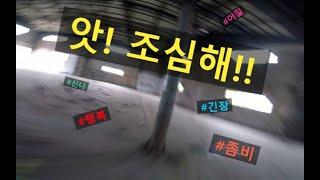 좀비 드론, 엉덩방아 찧고도 멀쩡히 비행하기 / FPV 프리스타일 드론 비행