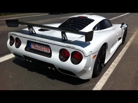 Mosler MT900 GTR Exotic Car Spotted at Nurburgring!