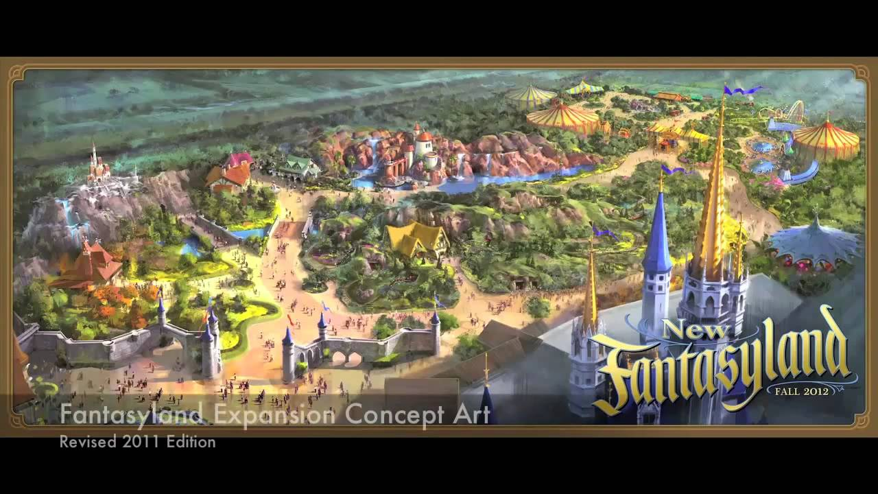 New 2011 Fantasyland Expansion concept art