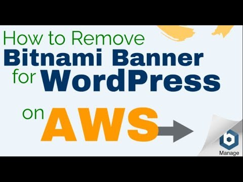 How to remove bitnami banner on aws and google cloud