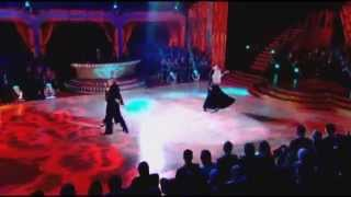 Aliona Vilani , Matt Cutler, Katya Virshilas and Brendan Cole ~ Modern Foxtrot ~ Strictly 2009.avi