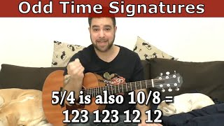 How To Play And Hear Odd Time Signatures (54, 78, 98, 118)   Guitar Lesson Tutorial