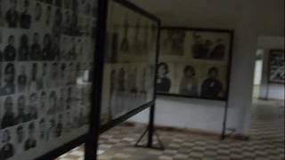 preview picture of video 'カンボジア一人旅 -Aim for Angkor Wat & true destination S21- (Tuol Sleng Genocide Museum)'