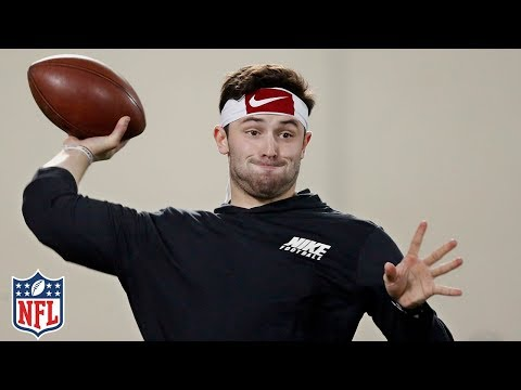 Baker Mayfield's Pro Day Highlights & Analysis   NFL