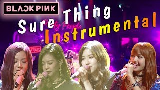 BLACKPINK   Sure Thing (Instrumental)