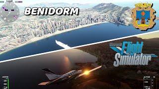 BENIDORM en FLIGHT SIMULATOR 2020 | SPAIN 4K 60FPS