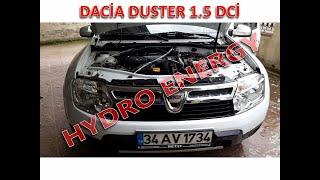 Dacia Duster 1.5 dci hidrojen yakıt tasarruf sistem montajı