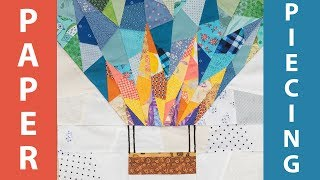 How to do Foundation Paper Piecing - Quilting