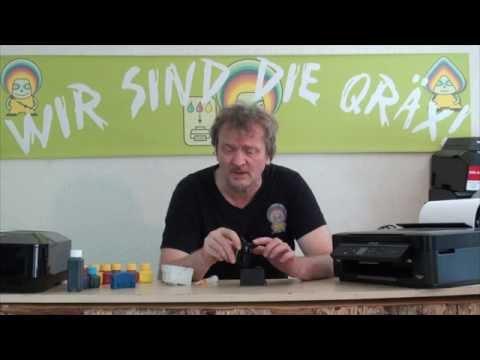 Epson Druckerpatronen 29 und 34 nachfüllen (Chipresetter)