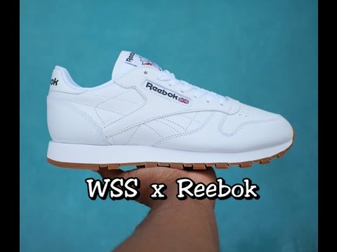 119df9d8a9a Reebok Classic Leather Athletic Shoes White Gum UNBOXING - Youtube Download