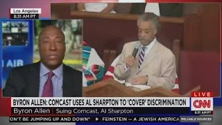 Al Sharpton, Comcast sued for racial discrimination