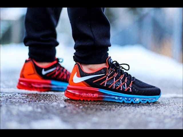 (HD) Nike air max 2016 on feet