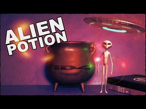 How To Make An Alien Potion To Call A UFO
