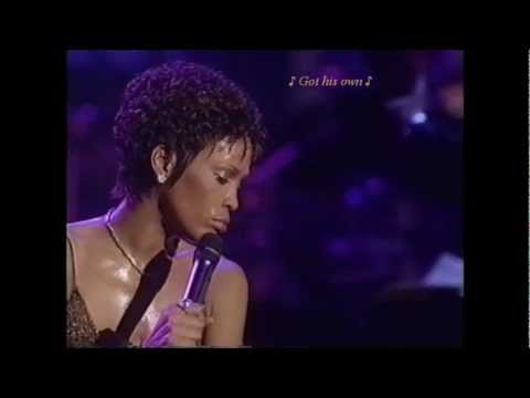 Whitney Houston 'God Bless The Child' (LIVE) w/lyrics