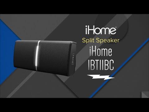 Hands On Review: iHome Split Black Bluetooth Portable Speaker System – IBT11BC