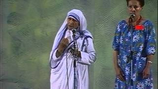 Madre Teresa di Calcutá no Meeting de Rímini (inglês, com legenda em italiano))