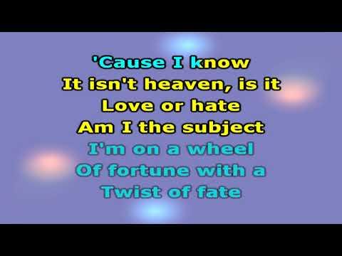 Bee Gees   Alone - Karaokê