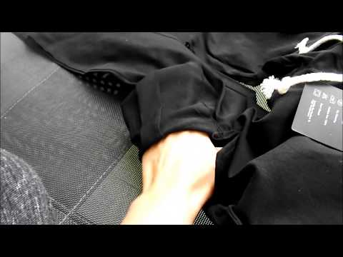 Pantaloni da donna neri in poliestere - aderenti - 4 tasche StyleDome