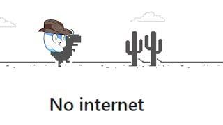 Playing the Google Chrome Dinosaur Game