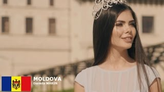 Daniela Marin Contestant from Moldova for Miss World 2016 Introduction