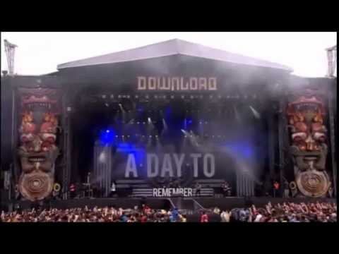 A Day To Remember - All I Want (Live Download 2015) - Michael Rua