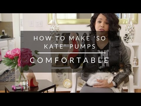 How To Make Christian Louboutin 'So Kate' Shoes Comfortable