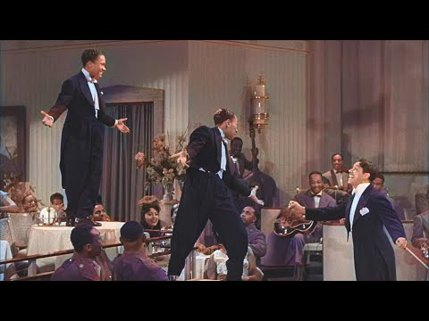 Cab Calloway and the Nicholas Brothers perform Jumpin' Jive from the 1943 musical Stormy Weather. No cgi, no wire-work. Just pure talent.