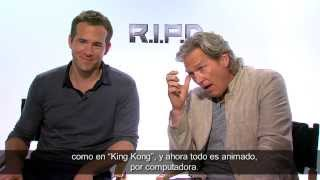 Entrevista Jeff Bridges y Ryan Reynolds - R.I.P.D.