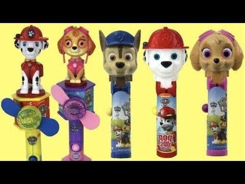 Paw Patrol Lollipop POP UPS Candy Dispensers