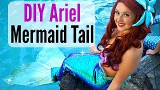 Diy Mermaid Costume - Disney Little Mermaid Inspired