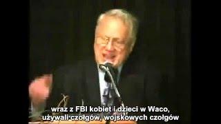"""Emerytowany agent FBI """"Honcho"""" Ted Gunderson obnaża w tym wideo wszystko ze szczerym patriotycznym zapałem, rakowate skażenie zorganizowanej ciężkiej przestępczości która zinfiltrowała (od samego początku) rząd Stanów Zjednoczonych na poziomie lokalnym, federalnym i stanowym."""