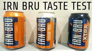 Irn Bru Taste Test
