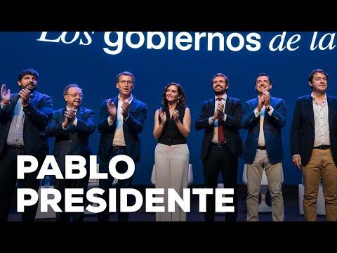 Nuestros presidentes autonómicos lo tienen claro: Pablo Casado presidente
