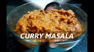 Maharastrian Authentic Curry Masala | kala Masala|Brown Gravy Masala |कला मसाला  Recipe In Marathi