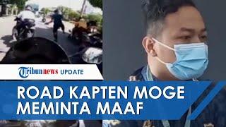 Permintaan Maaf Road Kapten Rombongan Moge yang Terobos Ring 1 Istana, Janji Tak Ulangi Perbuatannya