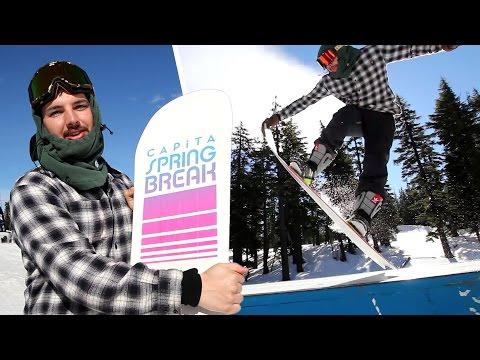 Capita Spring Break Slush Slasher 2016 Snowboard Rider Review – Tactics.com