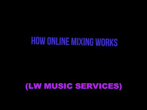 HOW ONLINE MIXING WORKS (LW Music Services)