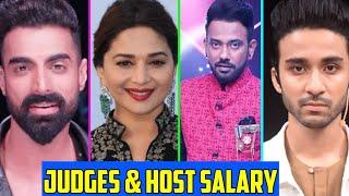 Shocking Salary Of Dance Deewane 3 Judges & Host | Madhuri Dixit | Raghav Juyal | Dharmesh Yelande