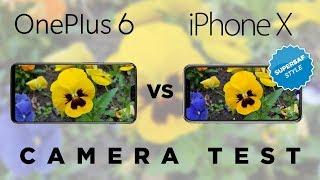 OnePlus 6 vs Apple iPhone X Camera Test Comparison